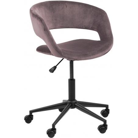 Grace VIC dusty rose velvet office chair Actona