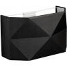 Kantoor black geometric wall lamp TK Lighting