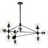 Astrifero X transparent&black designer glass balls lamp Step Into Design 2