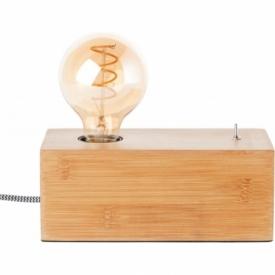 Armena oak wooden table lamp Brilliant