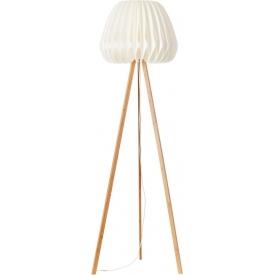Inna white tripod floor lamp Brilliant