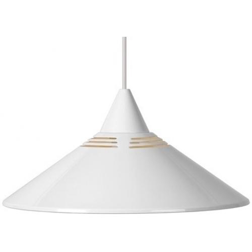 Stylowa Lampa wisząca Morley 34 Biała Lucide do salonu, sypialni i przedpokoju.