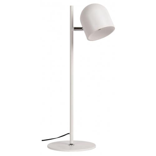 Stylowa Lampa biurkowa Skanska Led Biała Lucide na biurko od BlowUpDesign.pl