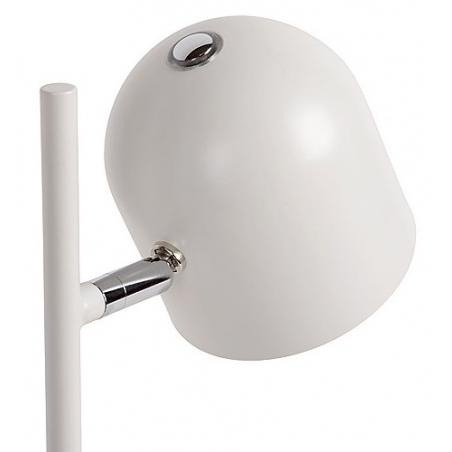 Stylowa Lampa biurkowa Skanska Led Lucide do salonu. Kolor biały