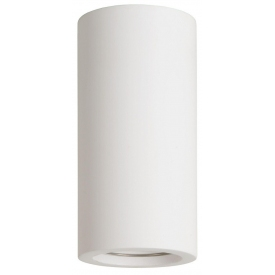 Gipsy Round 14 white gypsum ceiling lamp Lucide
