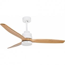 Bind 132 LED white matt&oak scandinavian windmill lamp