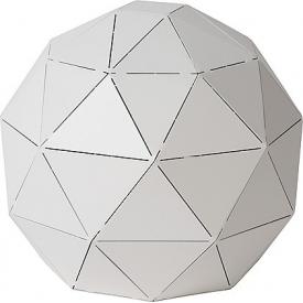 Otona 25 white ball table lamp Lucide