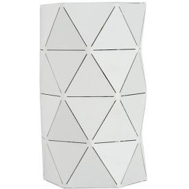 Otona white geometric wall lamp Lucide