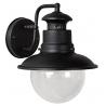 Figo 21 black outdoor wall lamp Lucide