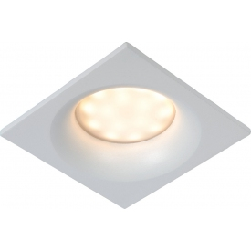 Ziva LED white square recessed spotlight Lucide