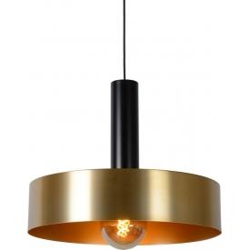 Designerska Lampa mosiężna wisząca Giada 50 Lucide do salonu i sypialni.