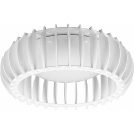 Monte 40 LED white plywood ceiling lamp Reality