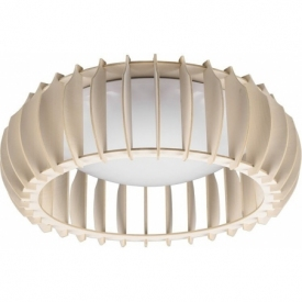 Monte 40 LED plywood ceiling lamp Reality
