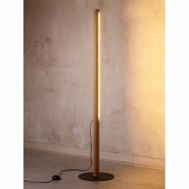 Rollo LED pine wooden floor lamp TK Lighting