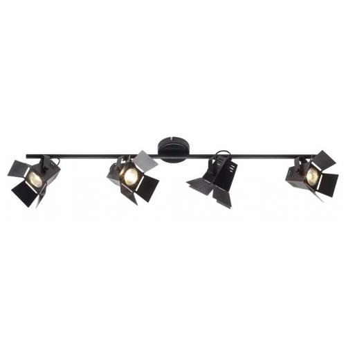 Industrialna Lampa sufitowa Movie 4 Black LED Brilliant do kuchni. Kolor: czarny matowy w cenie 595