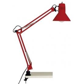 Stylowa Lampa biurkowa Hobby Brilliant na biurko. Kolor czerwony