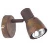 Lava Rust copper industrial wall lamp Brilliant