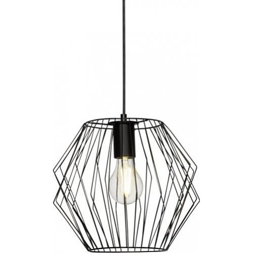 industrialna lampa wisząca Monari, oświetlenie w stylu loft.