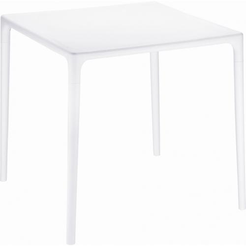 Stylowy Stół kwadratowy Mango 72 Siesta do kuchni. Kolor biały