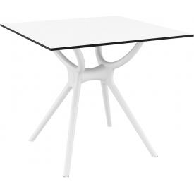 Designerska Lampa stołowa druciana Class S 20 do salonu. Kolor czarny, biały, Styl nowoczesny.