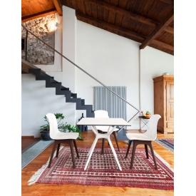 Designerska Lampa stołowa druciana Class L 20 do salonu. Kolor biały, czarny, Styl nowoczesny.