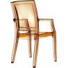 Designerskie Krzesło z podłokietnikami Arthur Siesta do jadalni. Styl nowoczesny.
