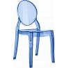 Designerskie Przezroczyste krzesło dziecięce Baby Elizabeth Siesta do jadalni. Styl nowoczesny.