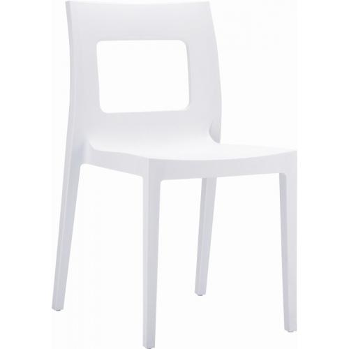 Nowoczesne Transparentne krzesło Mia