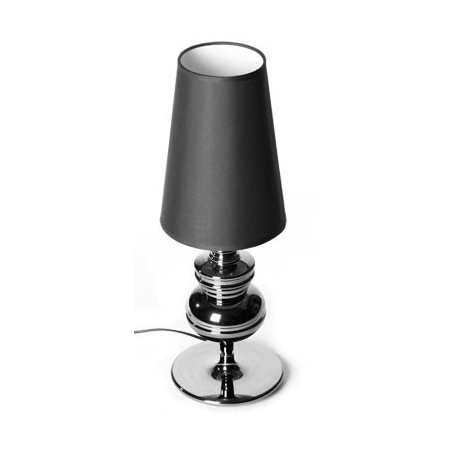 Jos 18 black table lamp with shade