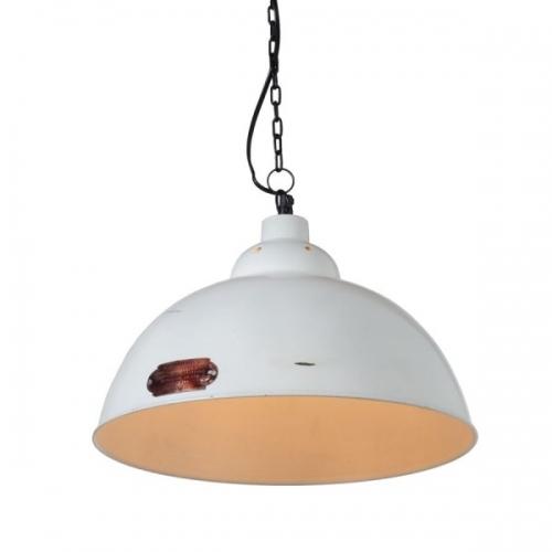 Industrialna Lampa wisząca Monari 36 do salonu. Kolor: biały w cenie 289