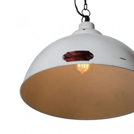 Monari 36 white industrial pendant lamp