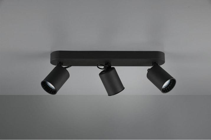 Reflektor kierunkowy potrójny Pago w stylu industrialnym