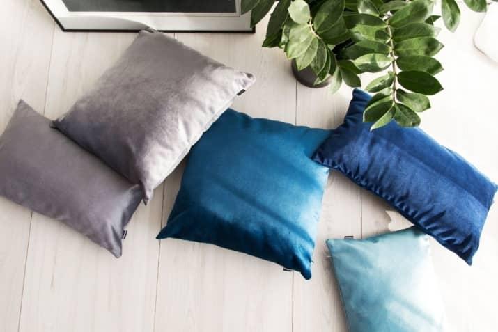 Welurowe poduszki dekoracyjne Pram