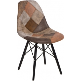 Cone upholstered chair