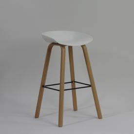 Krzesło Skin Black z tworzywa Resol